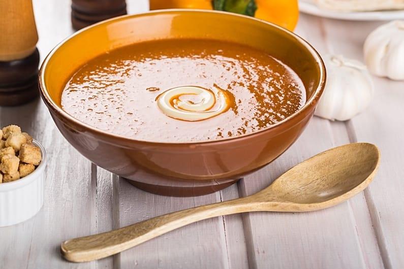 Zuppa speziata alle lenticche