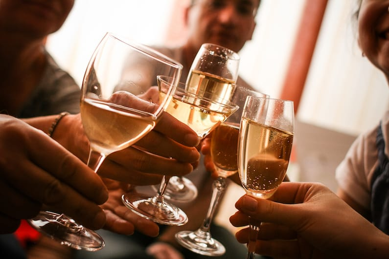 Quanti bicchieri di vino bere